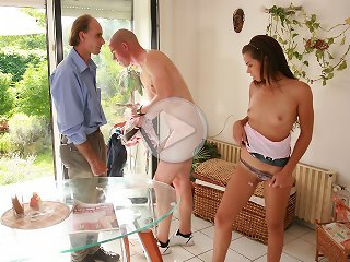 FLASH !!! Older husband got cuckolded by his trophy wife on a romantic countryside date